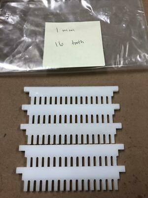 Electrophoresis Comb 1mm 16 tooth LOT OF FIVE
