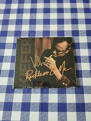 Kiefer Sutherland - Reckless and Me CD Genuine Hand Signed Jack Bauer Autograph