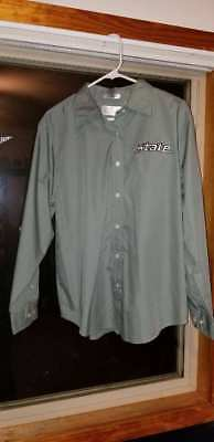 Michigan State MSU Dress Shirt Bill Blass Ladies XL