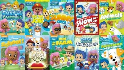BUBBLE GUPPIES LOT OF 10 New Sealed DVD Sets 69 Episodes