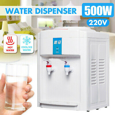 CAMEL Water Cooler Table Top Household Ice Warm /& Cold Hot Water Dispenser 220V