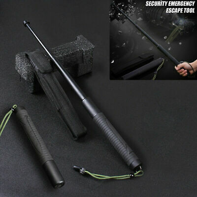 Self-Defense Sticks Camping Hiking Self Protection Tool Portable Telescopic Rod