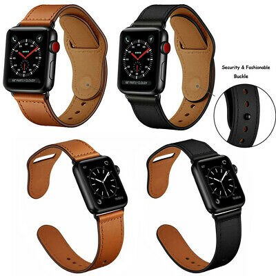 Genuine Leather iWatch Strap for Apple Watch Band Series 4 3 2 1 38/42mm 40/44mm