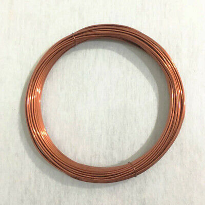 3-5mm Thick Copper Wire Coil Wirework Tiara Craft Jewellery Making Sold By Metre