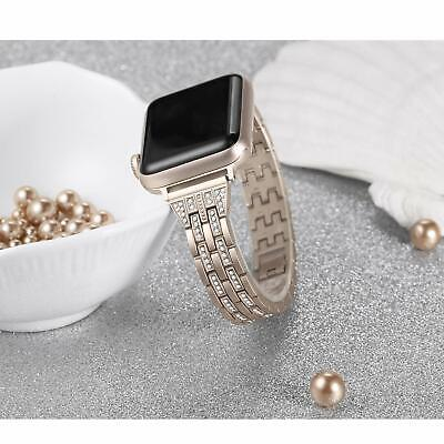 Secbolt Bling Band Compatible Fr Apple Watch Band 38-44mm Iwatch Series 4 3 2 1
