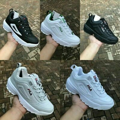 FILA Unisex Disruptor II 2 Sneakers Casual Athletic Running Walking Sports Shoes