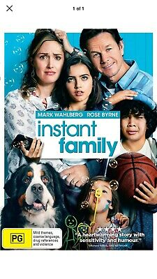 Instant Family DVD Region 4 NEW 💯 Authentic Not A Copy