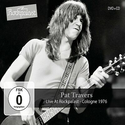 Pat Travers - Live At Rockpalast-Cologne 1976  Cd+Dvd Neuf