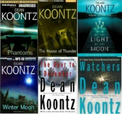 Dean Koontz Series Complete Set 57 AUDIOBOOKS ( MP3 )