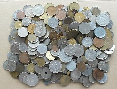 WORLD / FOREIGN - 1.8Kg of Mixed World Coins - 1800g Job Lot  - No British (ND24