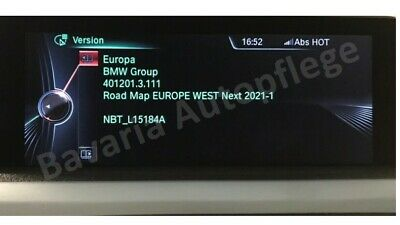 Original BMW Navi Update Europe NEXT 2019-2 Karten inkl. Freischaltcode (FSC)