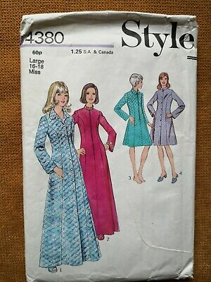 PATTERN FOR HOUSECOAT in TWO LENGTHS