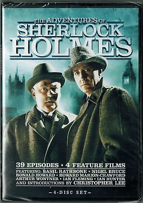 The Adventures of Sherlock Holmes: Complete Series (4 DVD Set) Nigel Bruce, Ron