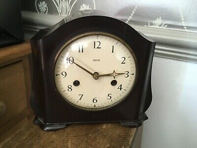 Vintage Smiths Clock with key
