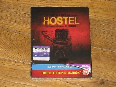 Blu-Ray Steelbook Hostel