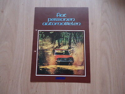 Fiat People Verhicles Brochure / Prospekt