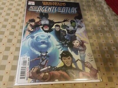 WAR OF THE REALMS NEW AGENTS OF ATLAS 1 1st PRINT NM