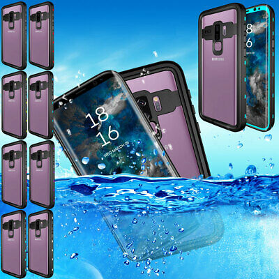 Shockproof Waterproof Case For Samsung Galaxy S9 / S9 Plus with Screen Protector