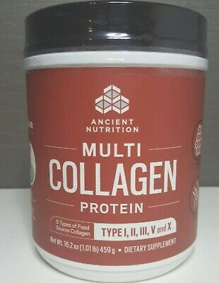 Dr AXE Multi Collagen Protein Powder 16oz Brand New Sealed (Free Shipping)