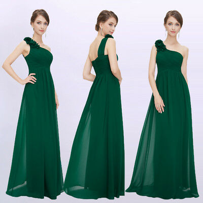 925eb7151c4 Ever-Pretty Bridesmaid Dresses One Shoulder Formal Chiffon Ball Prom Gown  08237