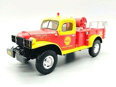 First Gear Dodge Power Wagon Brush Fire SHELL OIL Collectors Edition 18-2484