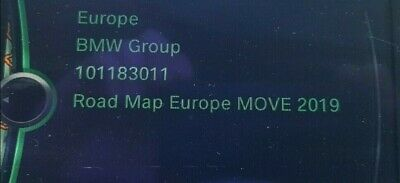 original BMW Navi Update Europe MOVE 2019 Karten inkl. Freischaltcode (FSC)