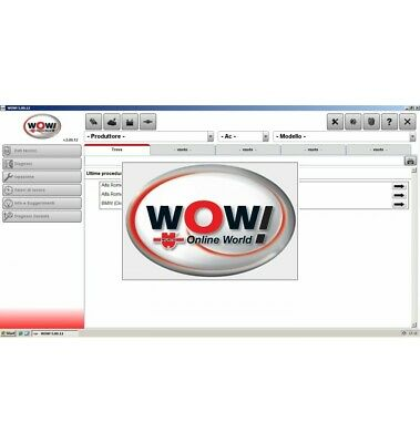 Wow Wurth 5.00.12 + Fw 2404 Italiano Banca Dati