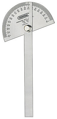 General Tool 18 General G 3 3/8&Quot; Round Head Steel Protractor With Arm