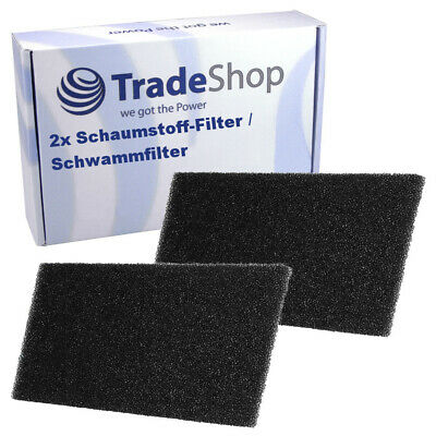 2x Schaumstoff-Filter für Bauknecht Excellence HP 7422 8522 Green Intelligence