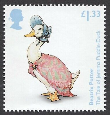 Beatrix Potter  Jemima  Puddle-Duck Illustrated On 2016  Gb Unmounted Mint Stamp