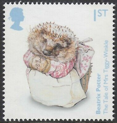 Beatrix Potter  Mrs Tiggy-Winkle   Illustrated On 2016  Gb Unmounted Mint Stamp