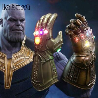Avenge 4 Infinity War Infinity Gauntlet LED Cosplay Thanos Gloves Cosplay Toys