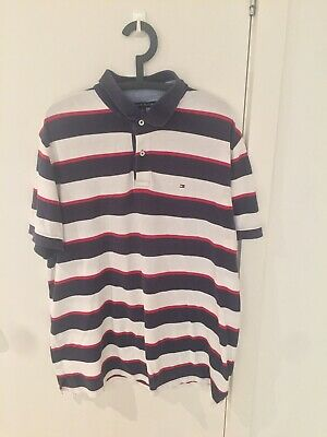 Vintage Tommy Hilifiger Polo Shirt Size XL