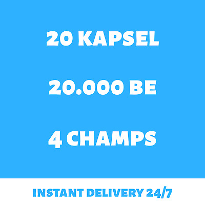 League of Legends Account LoL Smurf 20 Champion-Kapsel EUW Level 30+ BE Unranked