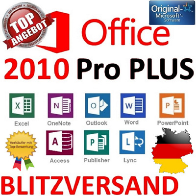 Microsoft Office Professional Plus 2010 Lizenzschlüssel/MS Office 2010 Pro Key