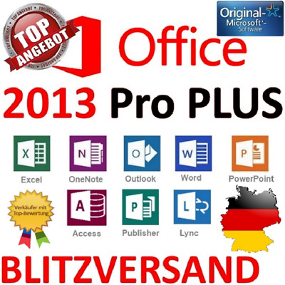 Microsoft Office Professional Plus 2013 Lizenzschlüssel/MS Office 2013 Pro Key