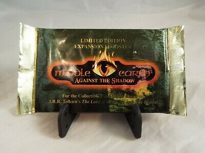 Middle Earth Against The Shadow Sealed Booster Pack Of 12 Cards