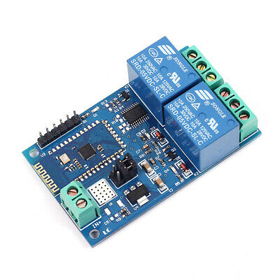 5V 2Bit ESP8266 WIFI Relay IOT Intelligent Home Mobile APP Remote Control Switch
