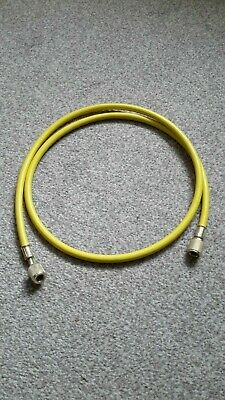 Air Conditioning Test Manifold Hose 1.3M - Yellow - Unused