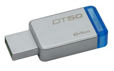 Kingston DataTraveler 50 - DT50 - clé USB 3.0 - 64 Go, 64 Go