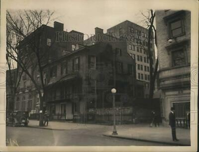 1922 Press Photo Houses at 21 Madison Place, Washington, D.C. - pix14487