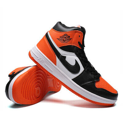 Men's Personality Air 1 Boots Jogging Running Athletic Sneakers Shoes High Top