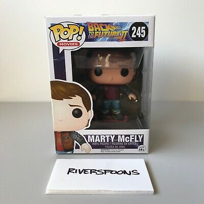 Funko Pop! Vinyl Back To The Future Marty McFly Hoverboard US Exclusive #245