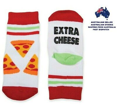 Toddlers Socks - EXTRA CHEESE - FUNNY FEET By GamaGo - Ages 12 - 24 Months - NEW
