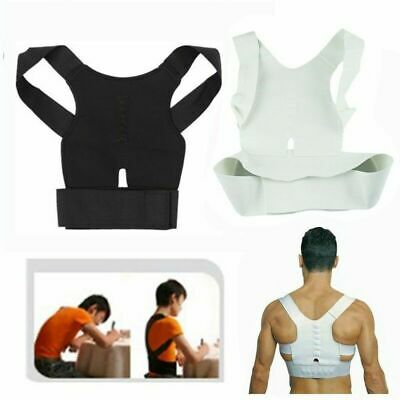Posture Corrector Men Women Support Back Brace Belt Adjustable Correction Band