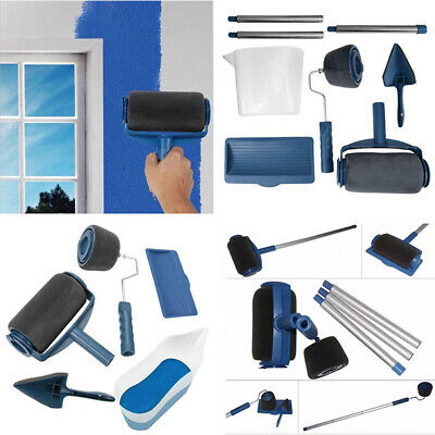 5/8Pcs Multifunctional Paint Roller Brush Tool Wall Decorative Household Painter