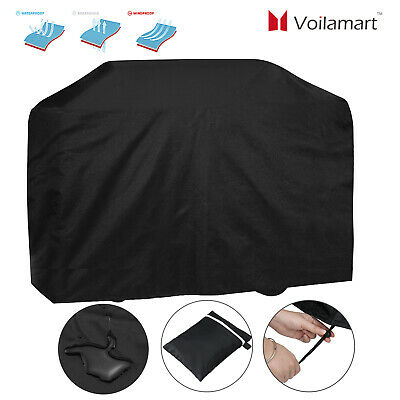 Extra Large BBQ Cover Waterproof Barbecue Grill Protector Heavy Duty 170CM