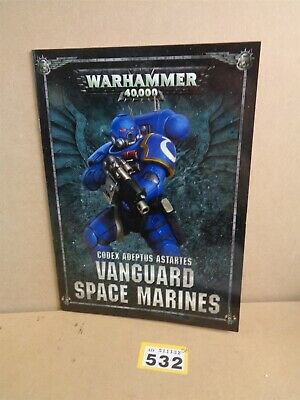 Warhammer Soft Cover Codex Adeptus Astartes Vanguard Space Marines Primaris 532