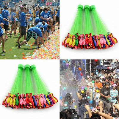 Water Balloons Bombs Kids Summer Party Fun Toys Self Tying Fast Fill UK