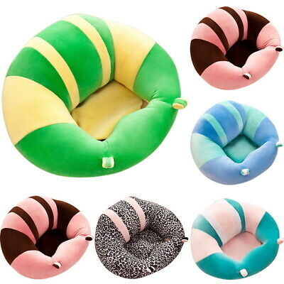 Baby Sofa Learn Sitting Chair Nursery Support Seat Pillow Protector Cushion UK
